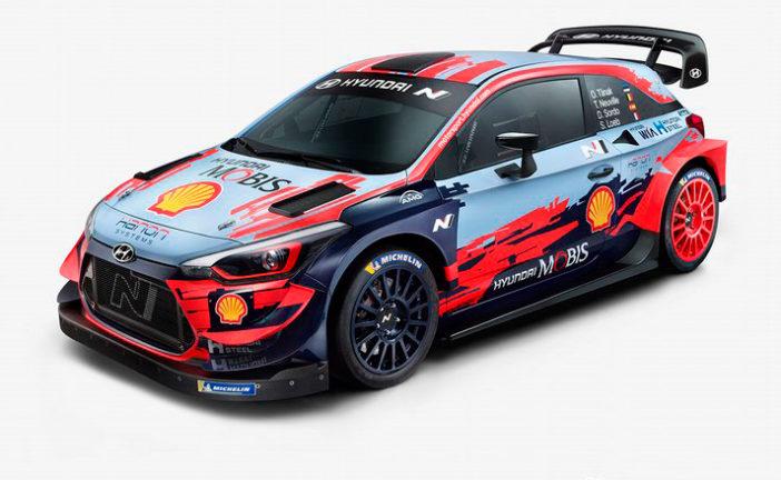 WRC: Hyundai presenta el coche y equipo candidatos a todo en el WRC 2020