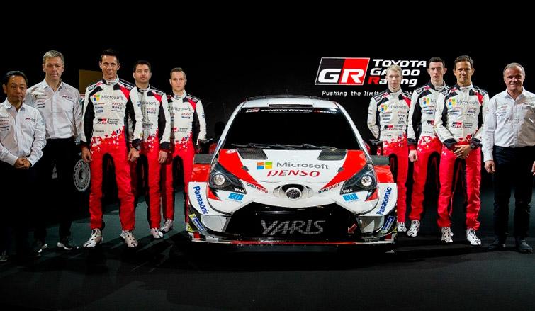 WRC: Toyota pone en escena el Yaris 2020