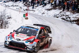 WRC: Evans con ventaja en un emocionante final