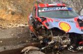 WRC: Accidente de Tänak en un Rally de Montecarlo en el que manda Evans