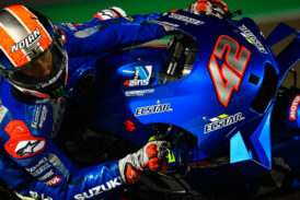 MotoGP: Rins cierra el primer día del test en Qatar a la cabeza