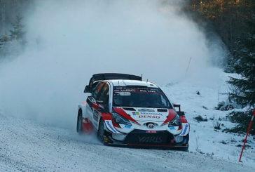 WRC: Elfyn Evans toma el mando en los primeros tramos del Rally de Suecia