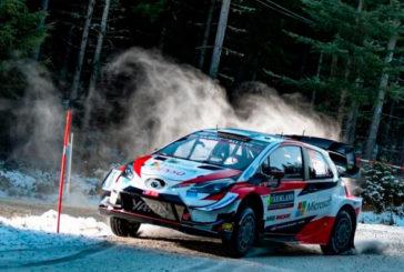 WRC: Elfyn Evans estrena su palmarés con Toyota en el Rally de Suecia