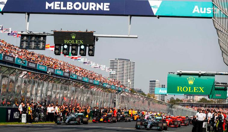 Fórmula 1: Se pone en duda el inicio de la temporada por el coronavirus