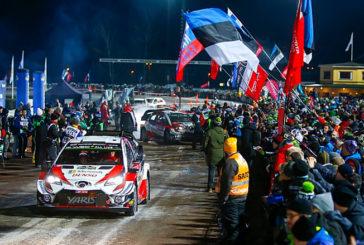 WRC: Rovanperä gana el caótico Shakedown de Suecia y se suspende el especial