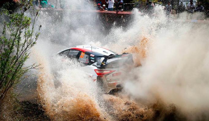 WRC: Evans estira su buen momento en el shakedown de México