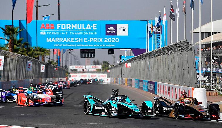 Fórmula E: Se suspende por 2 meses la actividad