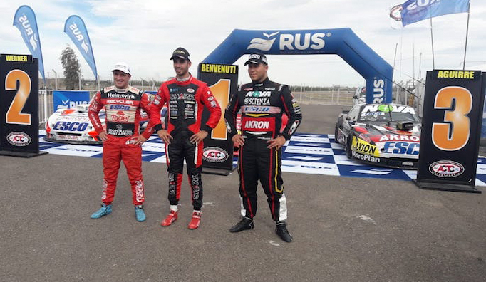 TC: Benvenuti , Werner y Aguirre, los ganadores de las series