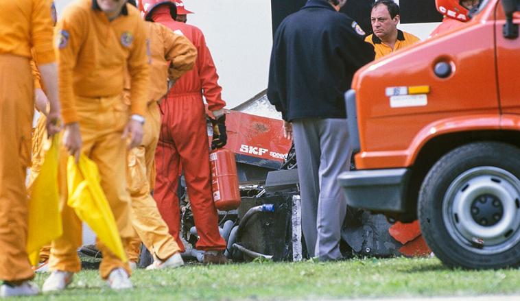 23/4/89: Gerhard Berger casi muere abrasado por las llamas