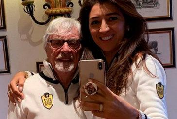 Fórmula 1: Ecclestone será padre a los 89 años con su esposa, 48 años más joven que él