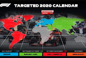 Fórmula 1: Se confirman los planes para el 2020: GP de Austria en julio y un máximo de 18 carreras