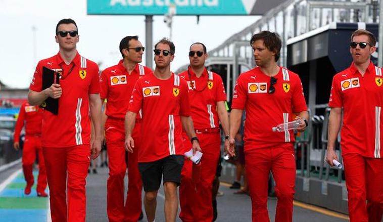 Fórmula 1: Vettel y Ferrari hacen oficial que no renovarán contrato