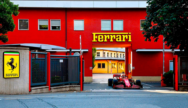 Fórmula 1: Leclerc rueda en F1 2020 de Ferrari en Maranello