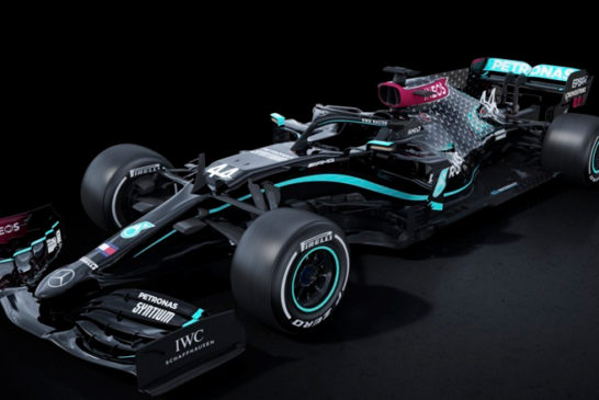 Fórmula 1: Mercedes se pasa al negro contra el racismo y la discriminación