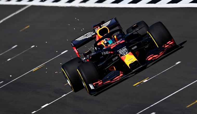 Fórmula 1: Así fue el test de Red Bull en Silverstone