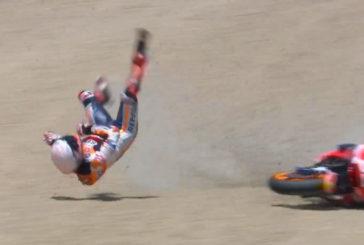 MotoGP: Marc Márquez, con fractura del húmero derecho