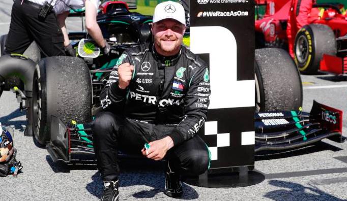 Fórmula 1: Bottas se lleva el caótico GP de Austria, sobre Leclerc y el inesperado Norris