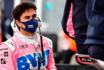 """Fórmula 1: Checo Pérez está asilado por una prueba """"no concluyente"""" de Covid-19"""