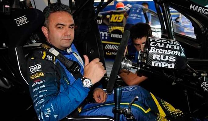 Esteban Tuero fue operado tras el violento accidente de tránsito