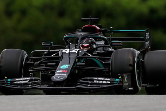 Fórmula 1: Mercedes marca el ritmo en la primera sesión de libres de 2020