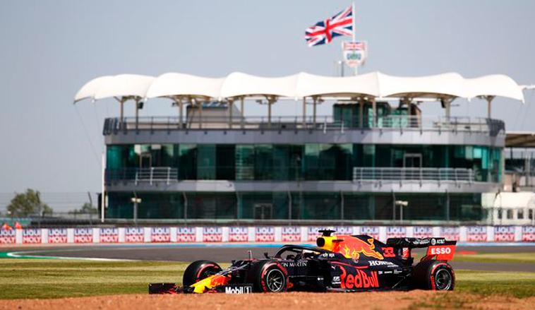 Fórmula 1: Verstappen supera a Hamilton en el primer ensayo en Silverstone