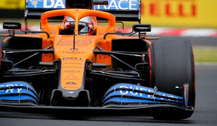 Fórmula 1: El McLaren de Sainz y Norris estrenará novedades en Silverstone