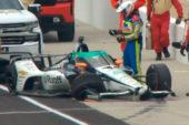 Indy Car: Alonso sufre otro accidente