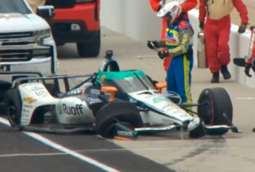 Indy Car: Alonso sufre otro accidente