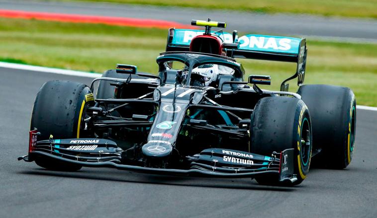 Fórmula 1: Bottas festeja su cumpleaños en la cima de los Libres 1