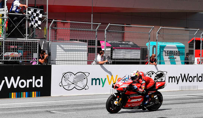 MotoGP: Dovizioso se reivindica con la victoria en Austria