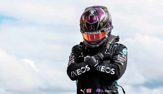 Fórmula 1: Hamilton logra su sexta pole en Spa, con Ferrari totalmente perdidos