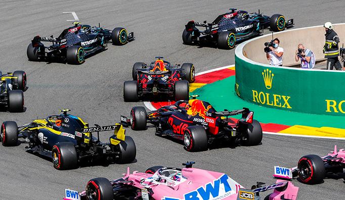 Fórmula 1: Hamilton arrasa en Spa