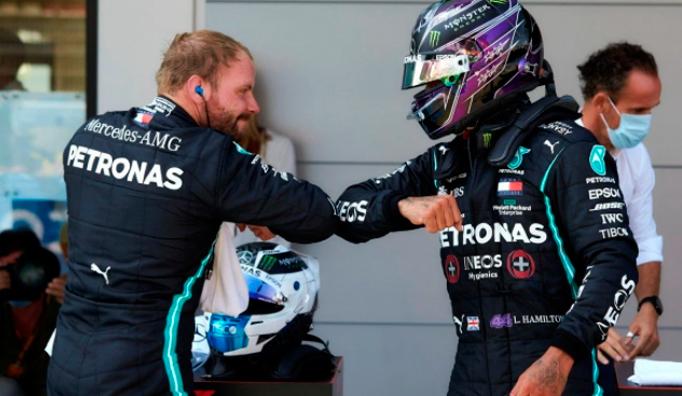 Fórmula 1: Hamilton se pasea por España