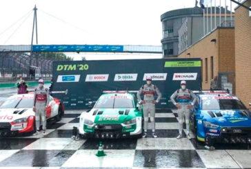 DTM: Nico Müller logra la primera pole del DTM en Lausitzring bajo la lluvia