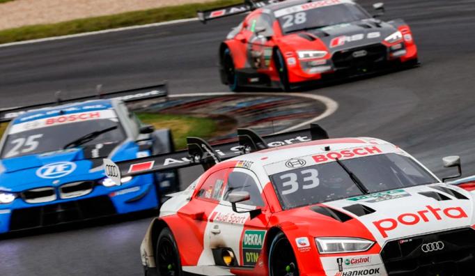DTM: René Rast recupera el ritmo y gana la primera carrera de Lausitzring