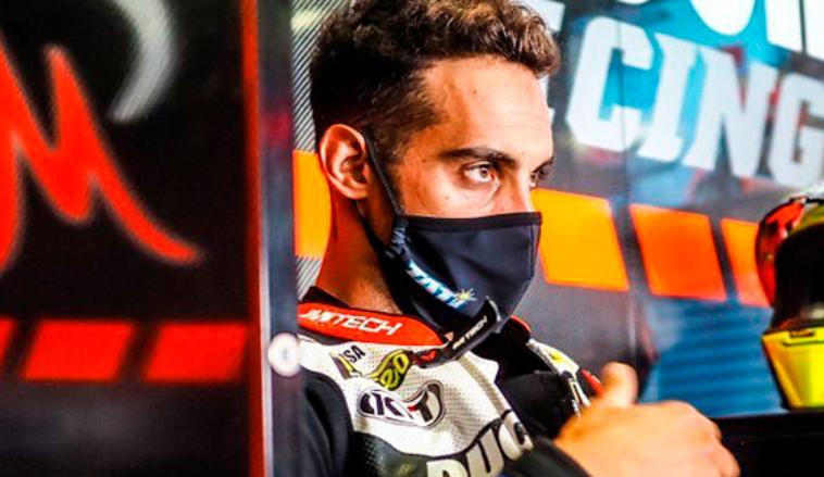 Super Bike: «Tati» Mercado quedó en el puesto 20 en Aragón