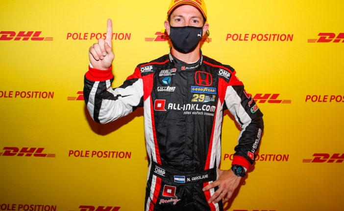 WTCR: Néstor Girolami marcó la pole en Nürburgring