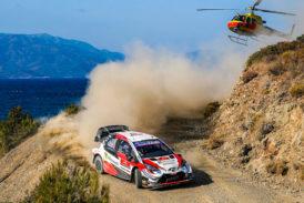 WRC: Ogier líder en Turquía, mientras a Tänak se le complica el título