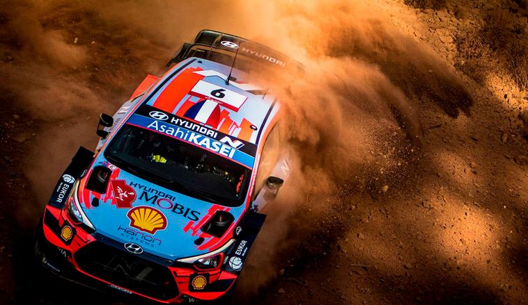 WRC: La leyenda no falla; el veterano Loeb lidera el primer día en Turquía