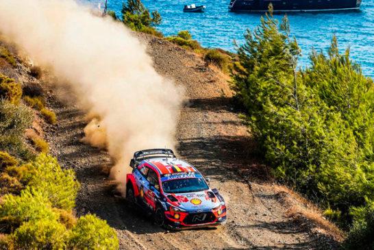 WRC: Neuville se queda con el sábado