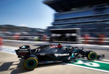 Fórmula 1: Bottas lidera y Mercedes asusta en los Libres 2