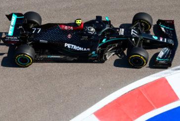 Fórmula 1: Bottas y Mercedes marcan el ritmo de los Libres 1 en el GP de Rusia