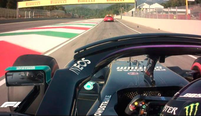 Fórmula 1: Hamilton gana en Mugello una carrera con tres salidas y el peor accidente en años