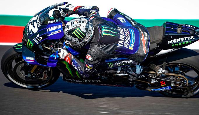 MotoGP: Maverick Viñales lidera el 'póker' de Yamaha en la parrilla de Misano