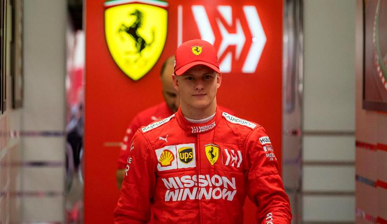 Fórmula 1: Ferrari anuncia el debut de Mick Schumacher en Fórmula 1