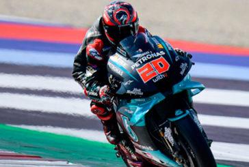 MotoGP: Quartararo lidera un duro FP1