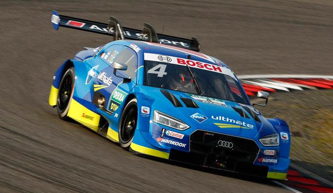 DTM: Müller en la primera y Frijns en la segunda carrera