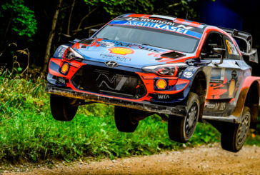 WRC: Doblete de Hyundai;, Tänak lidera el sábado