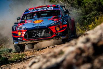 WRC: Dani Sordo cerca de repetir la victoria en Cerdeña