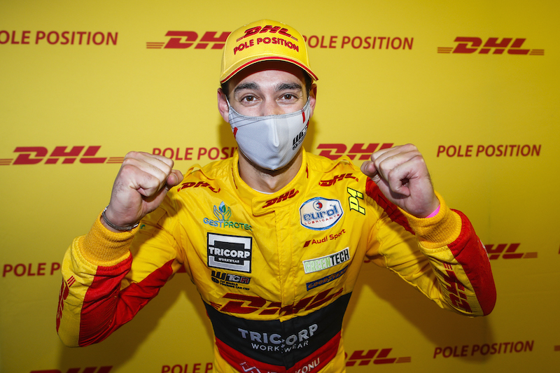 Berthon Nathanael (fra), Comtoyou DHL Team Audi Sport, Audi LMS, portrait during the 2020 FIA WTCR Race of Slovakia, 3rd round of the 2020 FIA World Touring Car Cup, on the Automotodrom Slovakia Ring, from October 9 to 11, 2020 in Orechova Poton, Slovakia - Photo Florent Gooden / DPPI